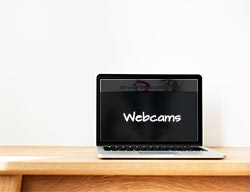 webcam contact